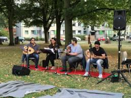 DaDa-Dienstag 2018 Band Vin mit Ivan Morad Ismael