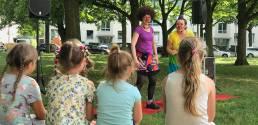 DaDa-Dienstag 2019 Clowns Coco und Milli