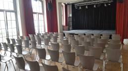 Der Saal im Kulturtreff